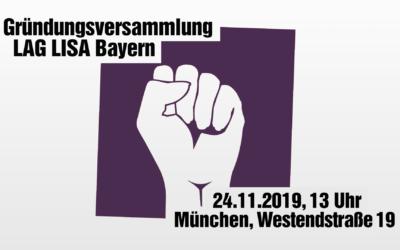 Gründung der Landesarbeitsgemeinschaft LISA der Linken Bayern