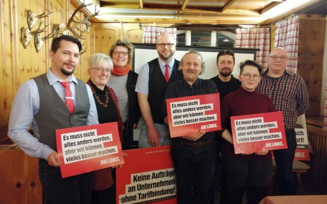 Artikel zum Wahlkampfauftakt: Linke hat Mieten und ÖPNV im Blick