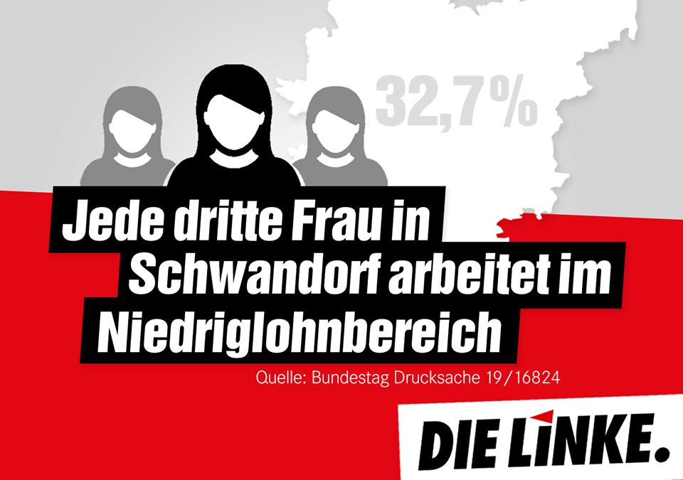 Jede dritte Frau in Schwandorf arbeitet im Niedriglohnbereich